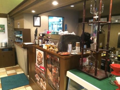 CAFE Bontain ボンタイン カウンター