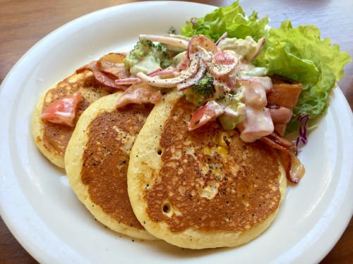 Cafe downey California brunch pancake 2