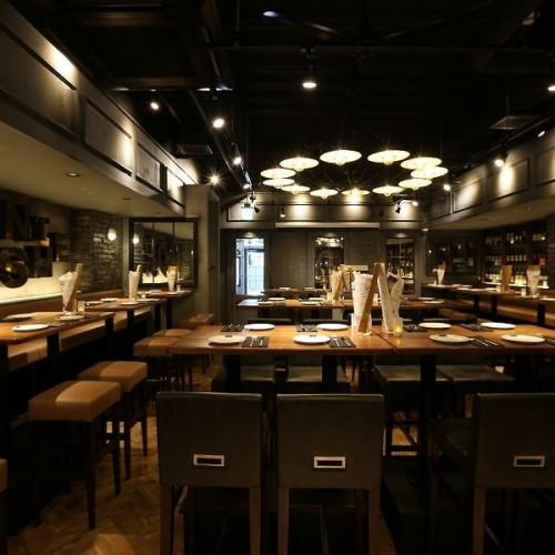 THE BROOKLYN CAFÉ テレビ塔店 (ザ ブルックリンカフェ)内観