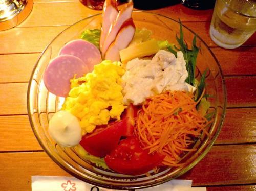 JAZZ&Coffee YURI ユリ サラダ冷麺