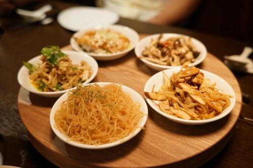 矢場CHINA (ヤバチャイナ)前菜五種盛り