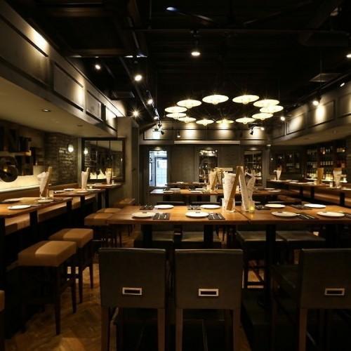 THE BROOKLYN CAFÉ テレビ塔店 (ザ ブルックリンカフェ)店内