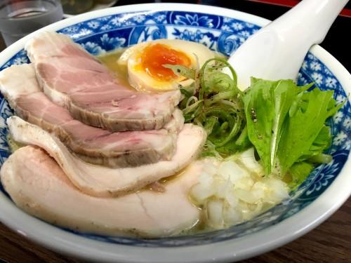 中華そば 親孝行 赤咖喱白湯
