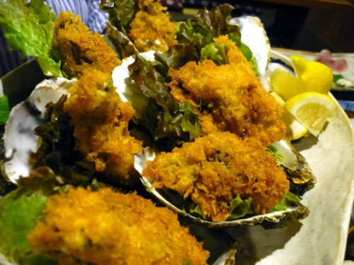 岩牡蠣フライ
