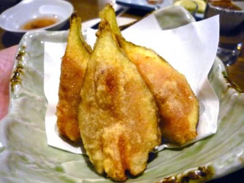 いちじくの天ぷら