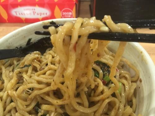 てっぺん ナゴヤドーム前店 台湾まぜそばの大盛 麺