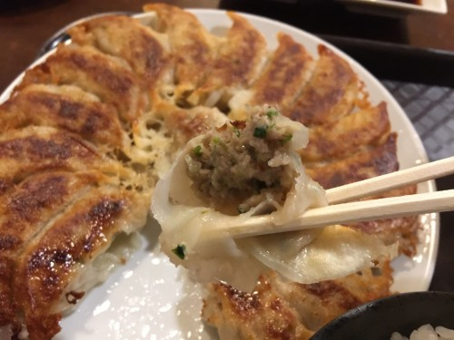 焼き餃子 2