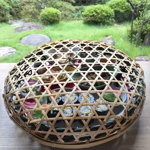竹籠ランチ☆1,500円(税抜き)