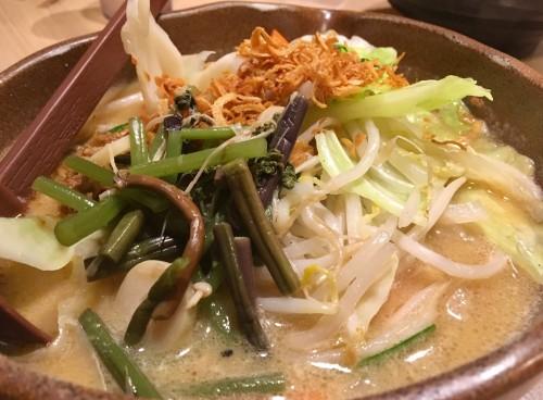 信州味噌 野菜ラーメン