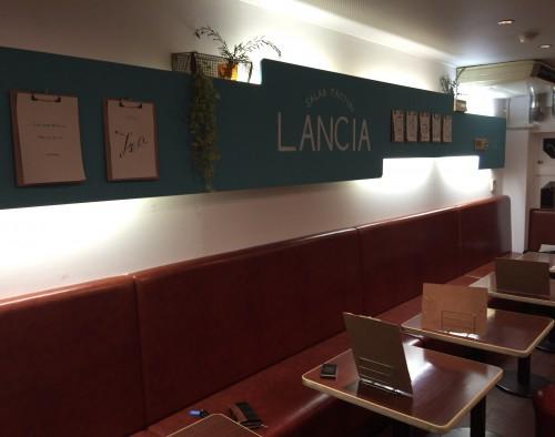 サラダショップ LANCIA (ランチァ) 店内