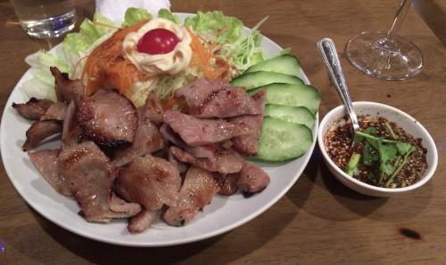 「コムヤーン」こと豚肉焼き