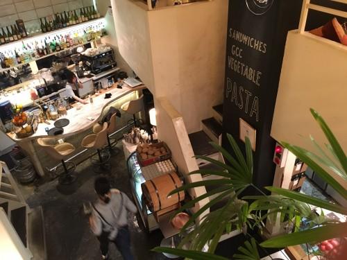 ゴールデンチャイルドカフェ (Golden child cafe)二階からの眺め