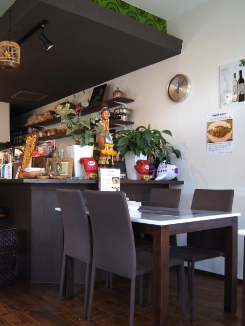 タイキッチン チャバ (Thai kitchen Chaba) 店内