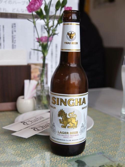 シンハービール(600円)