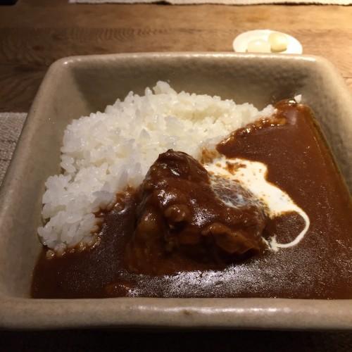 牛バラ肉の煮込みカレー☆1,100円