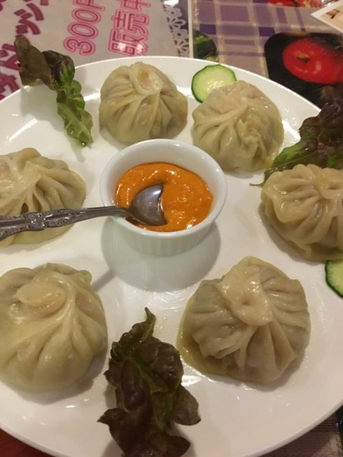 モモ(ネパールの蒸し餃子)
