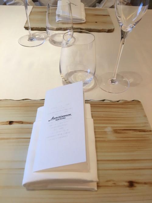 レミニセンス (Reminiscence) テーブル