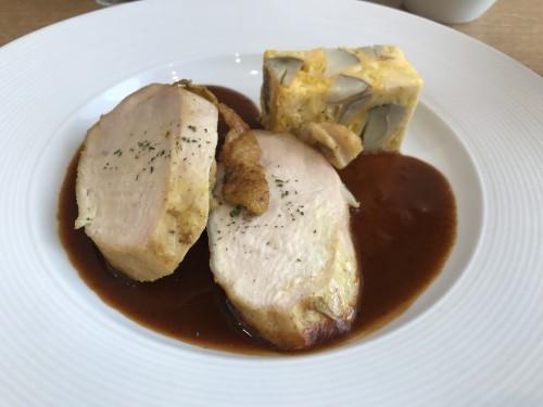 カレー風味の鶏胸肉ロースト