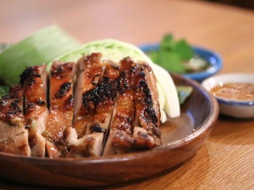 鶏もも肉1枚焼き(ガイヤーン)