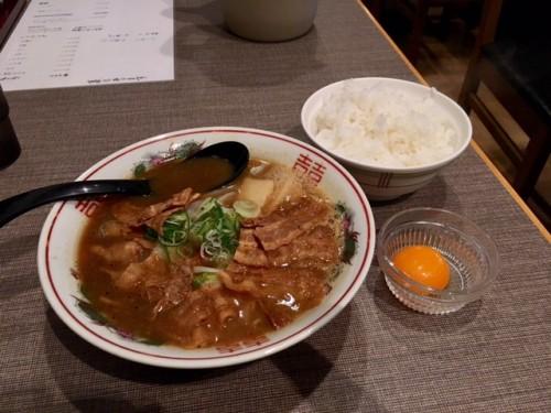 肉増しらーめん ¥780