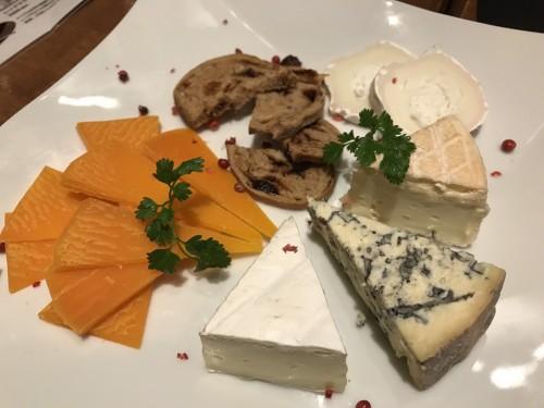 チーズプレート5種
