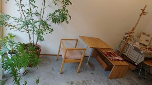 カフェ ティーリュージュ 店内