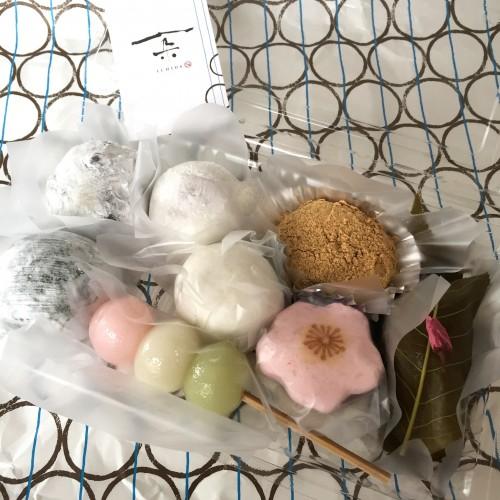 草餅・花見団子・薯蕷饅頭・さくら薯蕷・桜餅