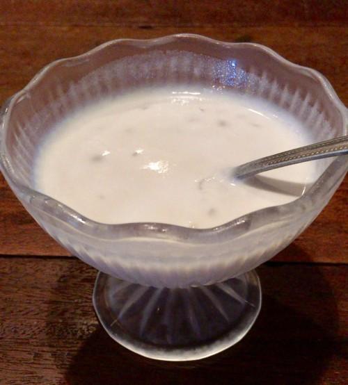 タピオカ&ココナッツミルク
