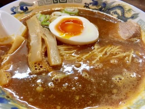 辛カレーそば ¥880