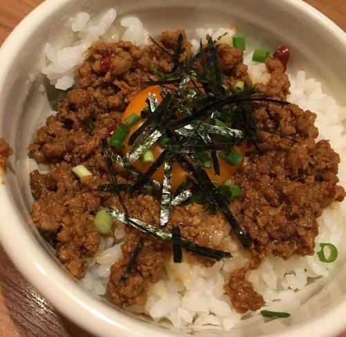 ピリ辛台湾丼