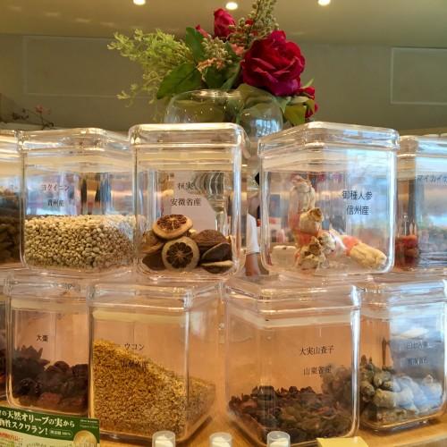 自然の薬箱 カフェ&キッチン 店内