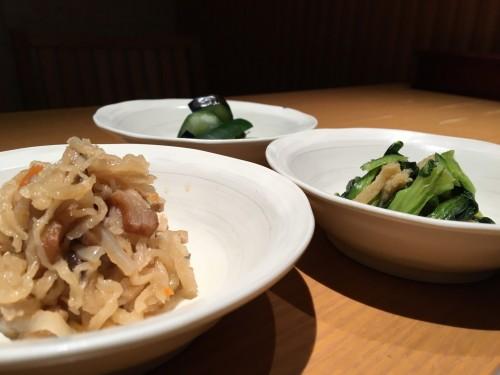 お惣菜3種