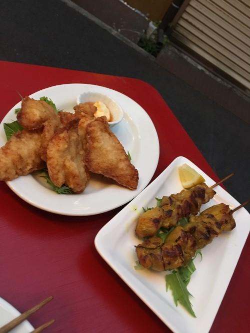 鯰の唐揚げ、ベトナム焼き鳥