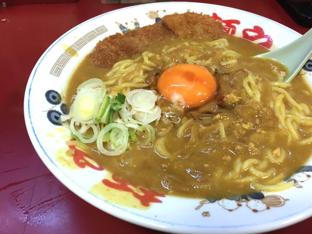 カツカレー麺 名古屋女子大栄ラーメン