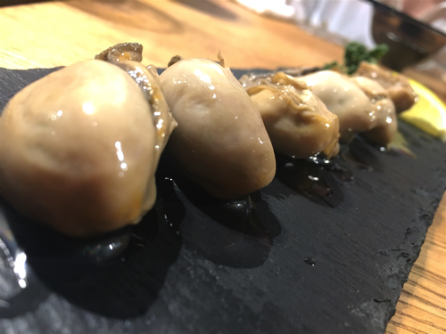 東区泉にできた日本酒と貝料理の専門店、珍しい和風バル