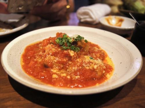豚八堂 (ブタハチドウ)  モツのトマト煮込み