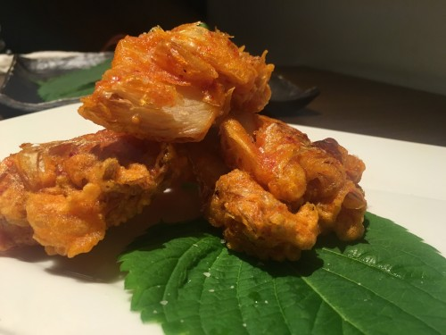 ソウルキッチン キムチの天ぷら