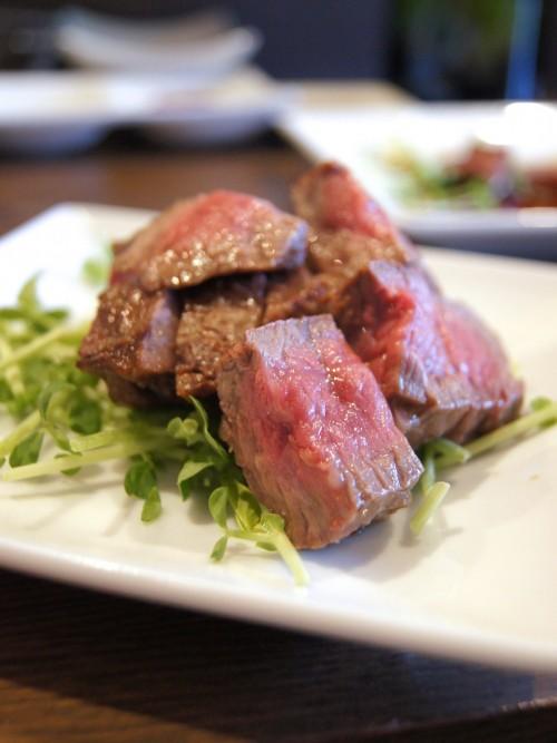 肉山 赤牛のランプ