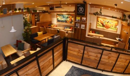 Kawara CAFE&KITCHEN(カワラ カフェ) 店内
