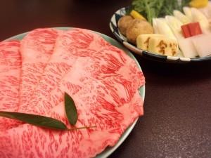 【中村区名駅】絶景夜景を見ながら食べる創業121年のすき焼き