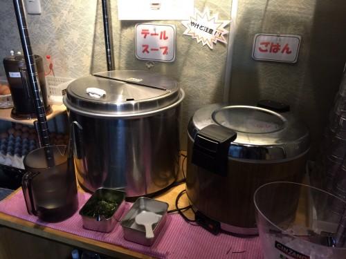 徳川ホルモンセンターもくもく 名駅 テールスープ