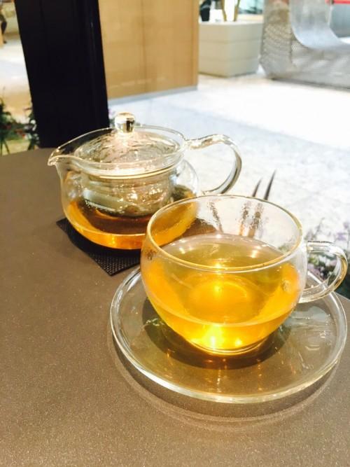 ラ・メゾン・ジュヴォー KITTE名古屋店 (La maison JOUVAUD)緑茶ベースのミントティー