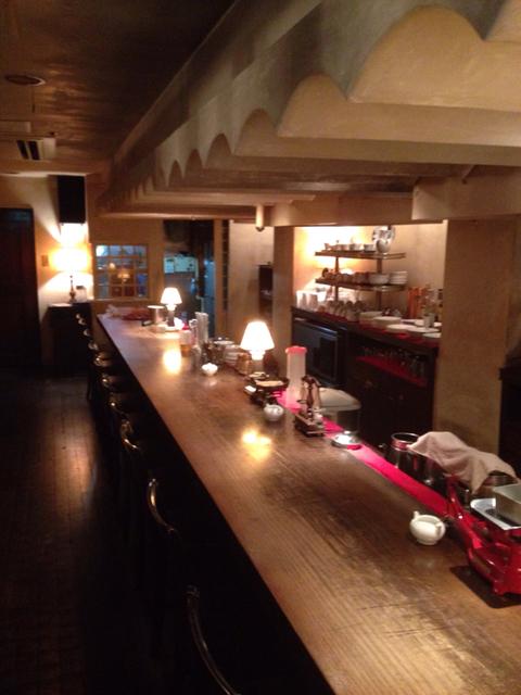 ヴァンサンヌ ドゥ (cafe vincennes deux)店内