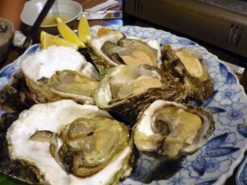 二種類の岩牡蠣