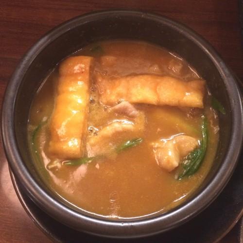 麺家 半蔵 カレーつけ麺 ¥900-