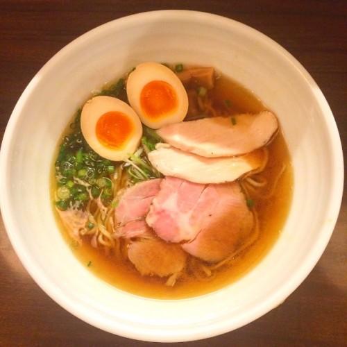 麺家 半蔵 煮干しラーメン ¥720-