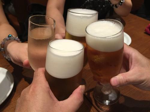 ペルアデッソ東海 KITTE名古屋店 乾杯