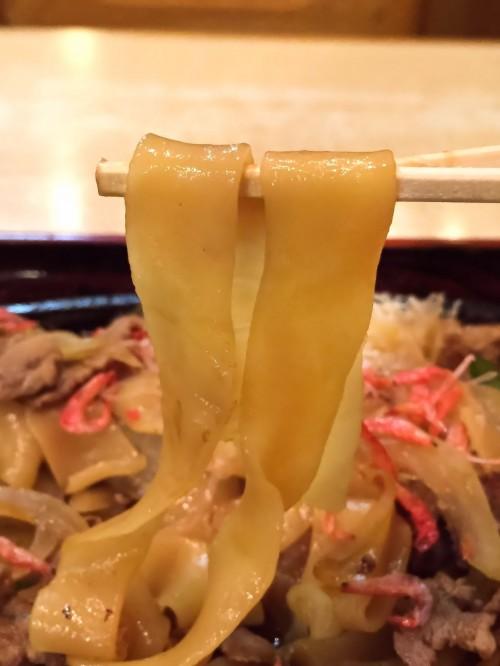 朝日屋うどん店 麺
