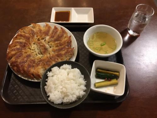 焼き餃子 定食