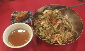 大須の中華料理店で美味しい日替わりホイハンランチ!